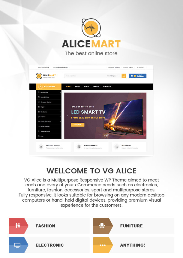 VG Alice - Multipurpose Responsive eCommerce Theme - 10