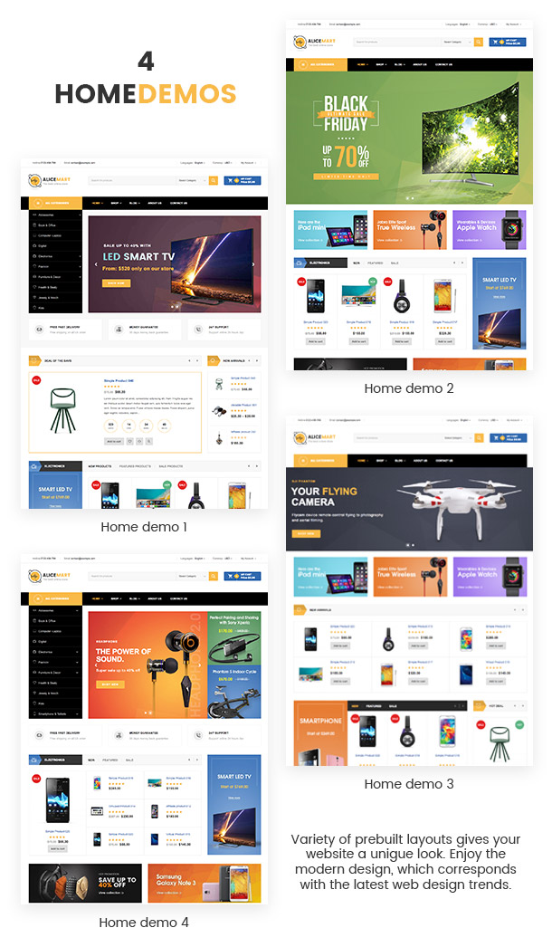 VG Alice - Multipurpose Responsive eCommerce Theme - 11