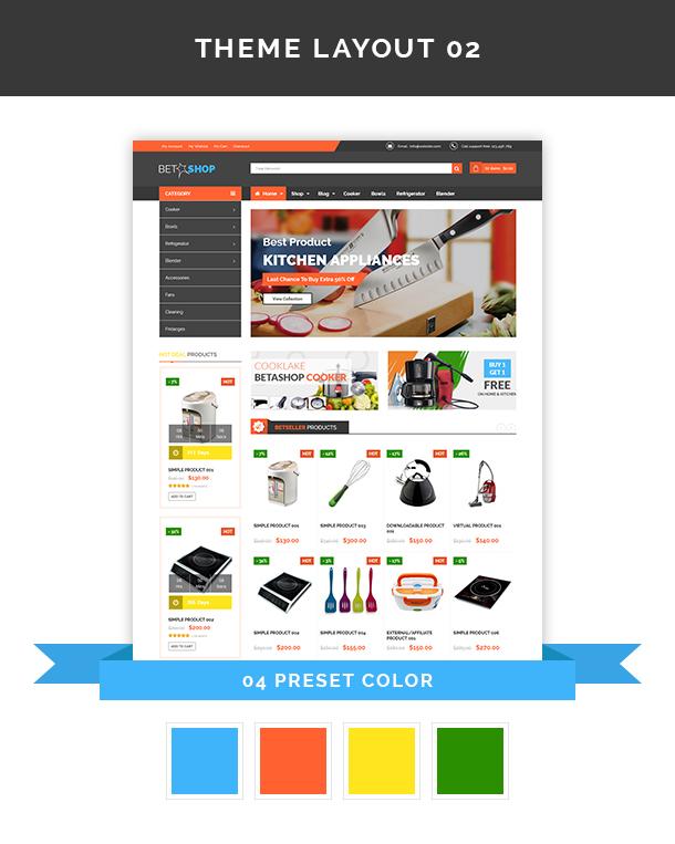 VG BetaShop - Kitchen Appliances WooCommerce Theme - 7