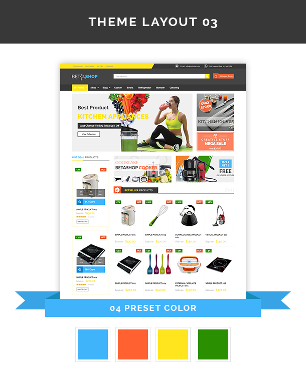 VG BetaShop - Kitchen Appliances WooCommerce Theme - 8