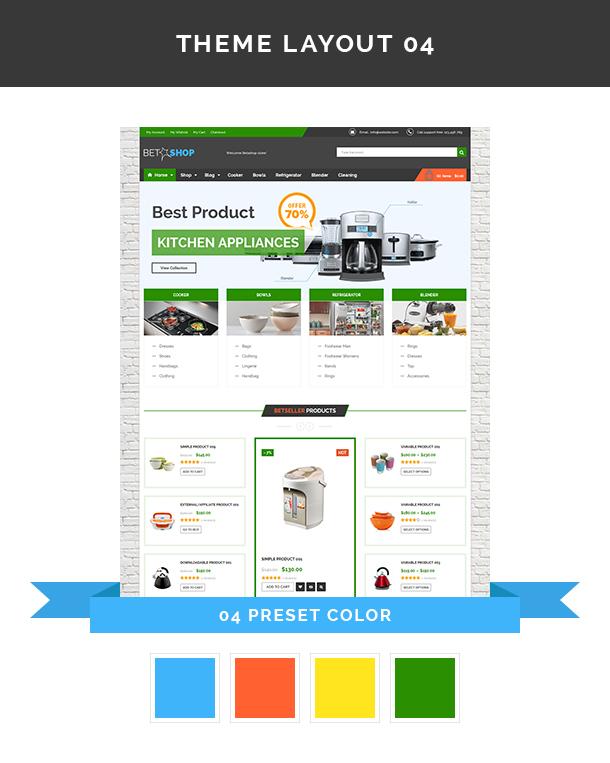 VG BetaShop - Kitchen Appliances WooCommerce Theme - 9