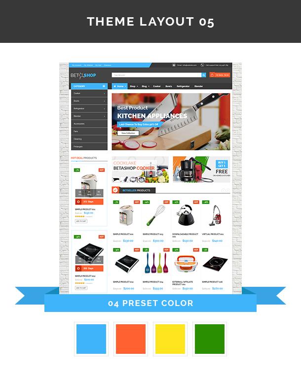 VG BetaShop - Kitchen Appliances WooCommerce Theme - 10