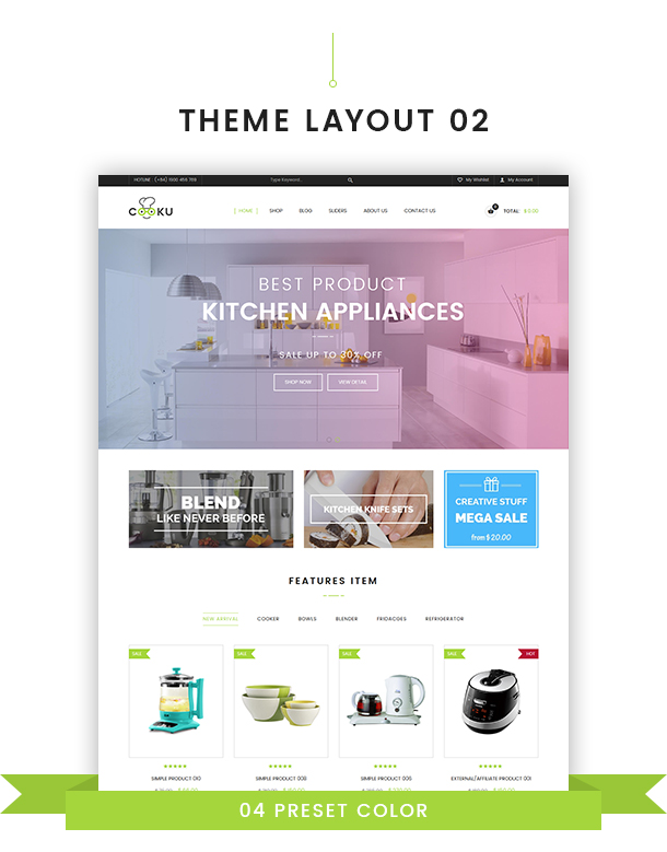VG Cooku - Clean, Simple WooCommerce WordPress Theme - 18