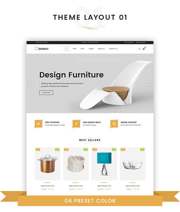 VG Dongky - Clean & Minimal WooCommerce WordPress Theme - 6
