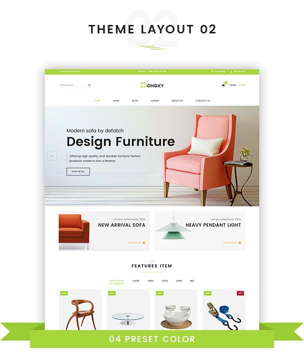 VG Dongky - Clean & Minimal WooCommerce WordPress Theme - 11