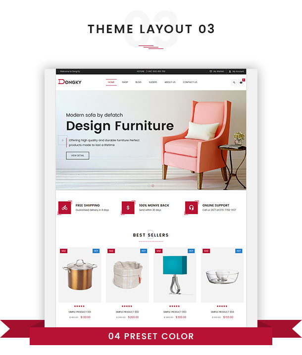 VG Dongky - Clean & Minimal WooCommerce WordPress Theme - 16