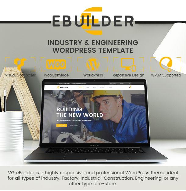VG eBuilder - Construction and Builder WordPress Theme - 8