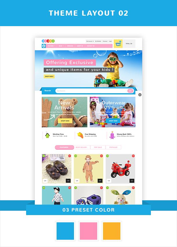 VG Fiora - WooCommerce WordPress Theme for Kids Store - 14