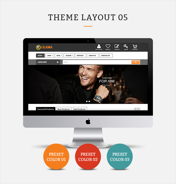Фото Шаблон Wordpress платный  VG Lilama - Mega Shop Responsive WooCommerce Theme — 02 lilama 05