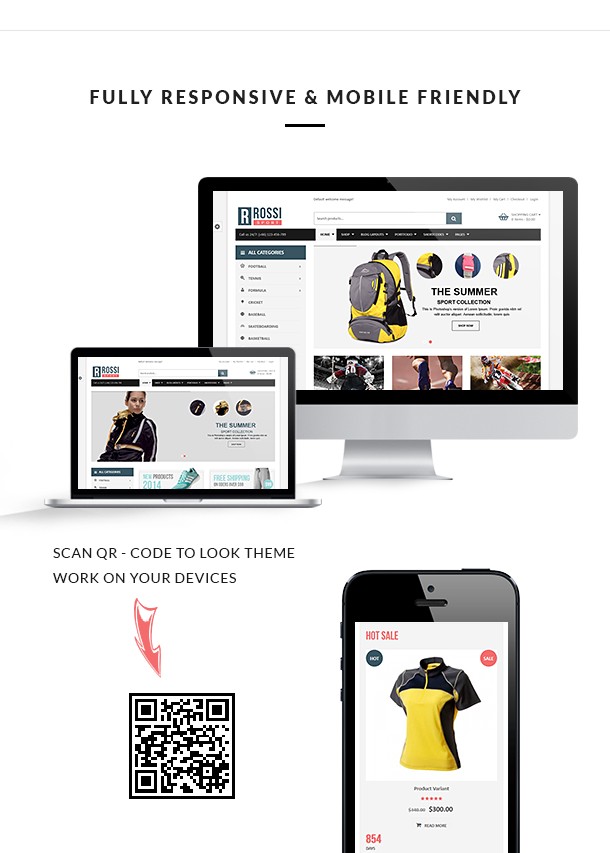 VG Rossi - Responsive WooCommerce WordPress Theme