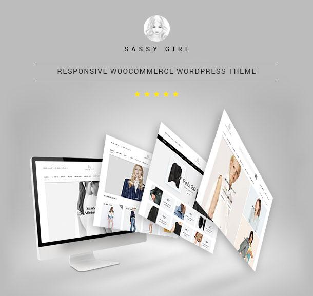 Фото Wordpress премиум шаблон  VG Sassy Girl - Responsive WooCommerce WordPress Theme — 01 sassygirl