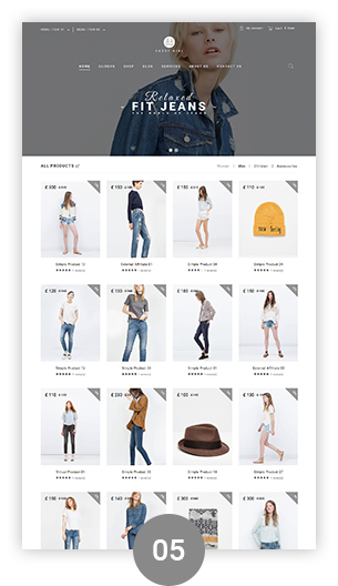 Фото Wordpress премиум шаблон  VG Sassy Girl - Responsive WooCommerce WordPress Theme — 02 sassygirl 05