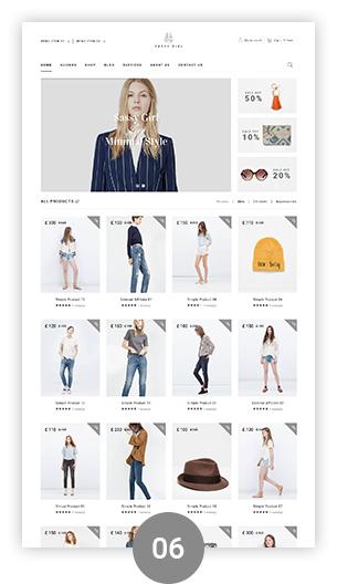Фото Wordpress премиум шаблон  VG Sassy Girl - Responsive WooCommerce WordPress Theme — 02 sassygirl 06