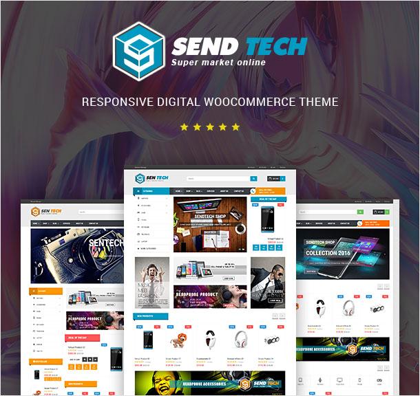 VG Sentech - Responsive Digital Woocommerce Theme - 5
