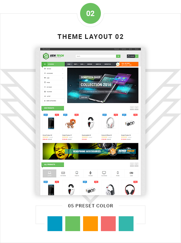 VG Sentech - Responsive Digital Woocommerce Theme - 7