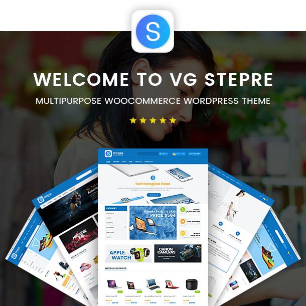 VG Stepre - Multipurpose WooCommerce WordPress Theme - 5