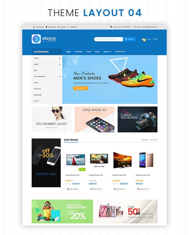 VG Stepre - Multipurpose WooCommerce WordPress Theme - 21
