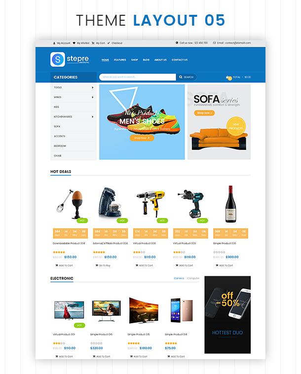 VG Stepre - Multipurpose WooCommerce WordPress Theme - 26