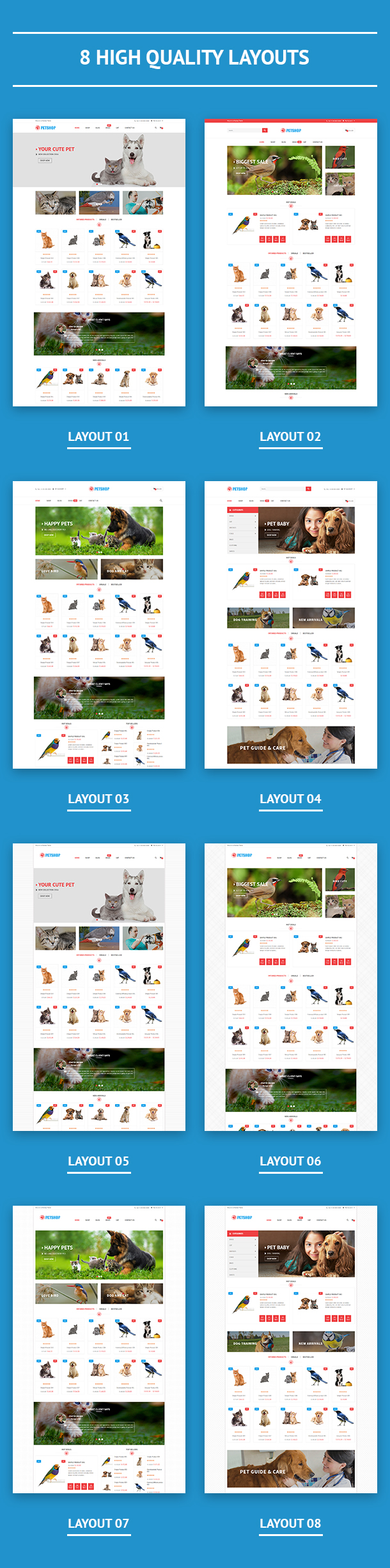 VG Petshop - Creative WooCommerce theme for Pets and Vets - 17