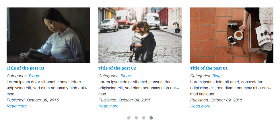 VG PostCarousel - Post Carousel for WordPress 5