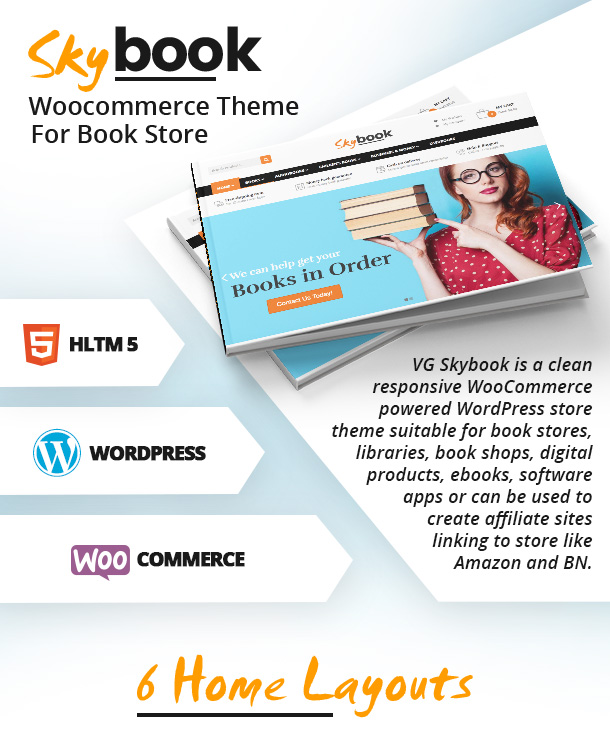 VG Skybook - WooCommerce Theme For Book Store - 10